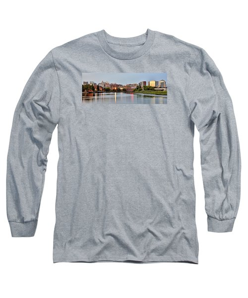 Wilmington Delaware At Dusk Long Sleeve T-Shirt