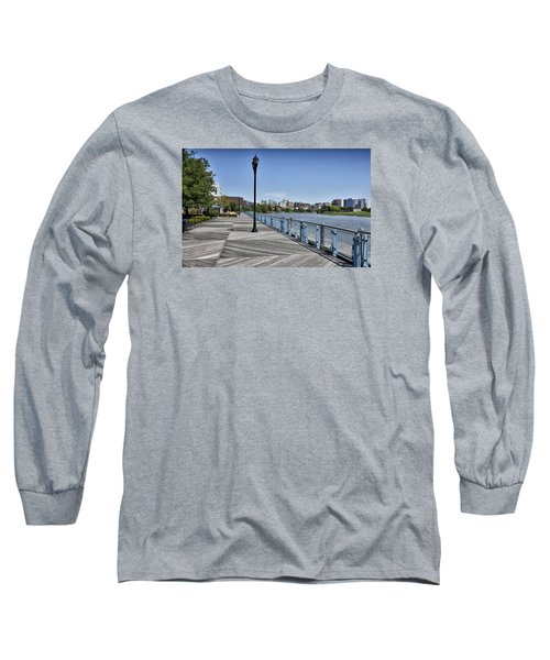 Wilmington Riverwalk - Delaware Long Sleeve T-Shirt