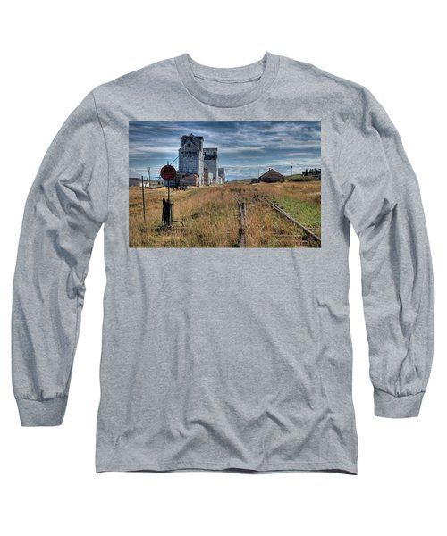 Wilsall Grain Elevators Long Sleeve T-Shirt