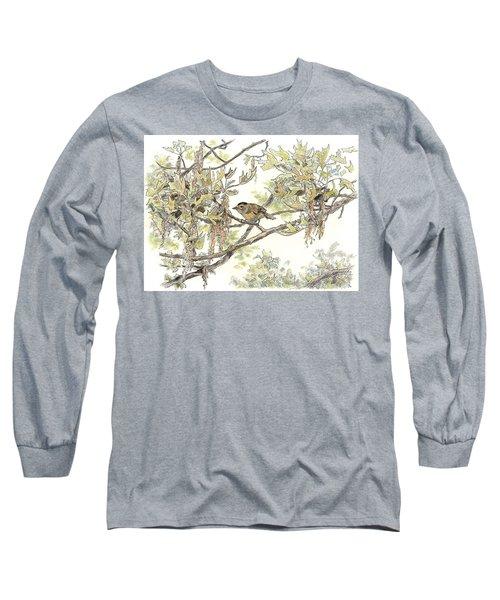 Wilson's Warbler Long Sleeve T-Shirt