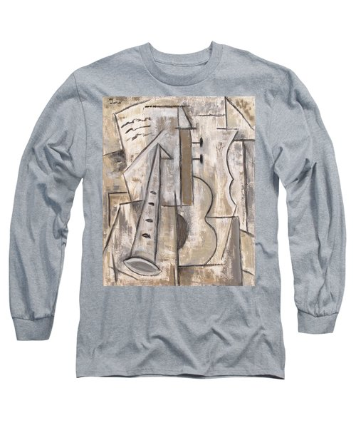 Wind And Strings Long Sleeve T-Shirt by Trish Toro