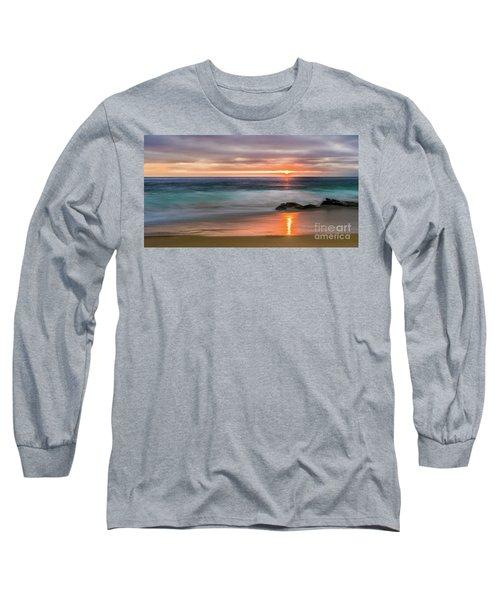 Windansea Beach At Sunset Long Sleeve T-Shirt