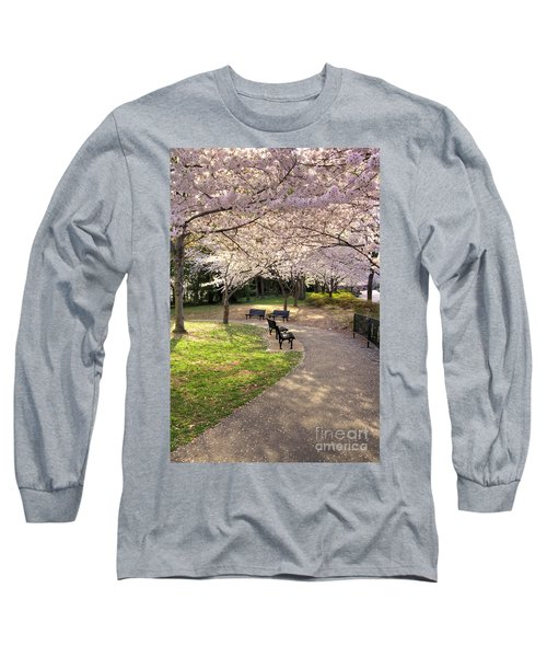 Winding Trail To The Tidal Basin Long Sleeve T-Shirt