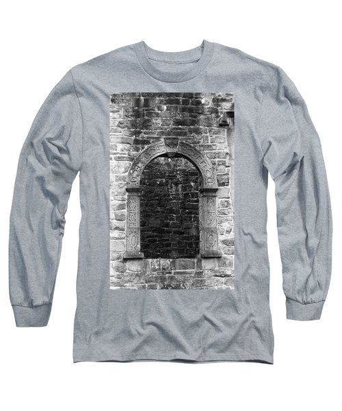Window At Donegal Castle Ireland Long Sleeve T-Shirt
