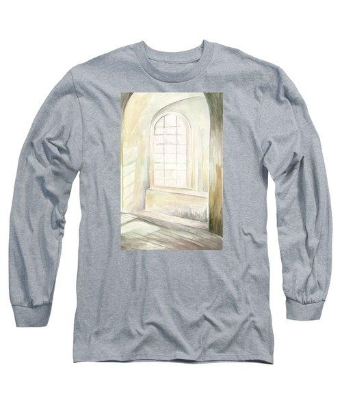 Window Long Sleeve T-Shirt by Darren Cannell