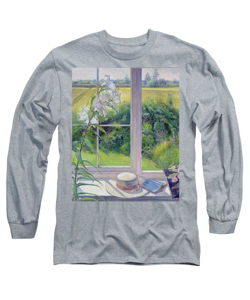 Window Seat And Lily Long Sleeve T-Shirt