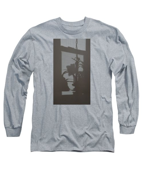 Long Sleeve T-Shirt featuring the photograph Window Shadows 1 by Don Koester