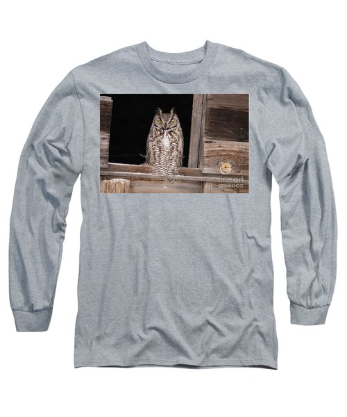 Window Sitting Long Sleeve T-Shirt