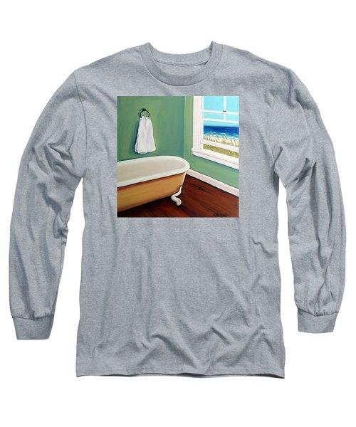 Window To The Sea No. 4 Long Sleeve T-Shirt