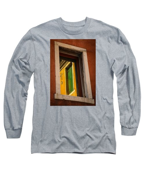 Long Sleeve T-Shirt featuring the photograph Window Window by Kathleen Scanlan