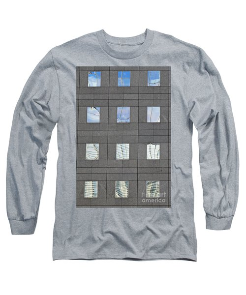 Long Sleeve T-Shirt featuring the photograph Windows Of 2 World Financial Center   by Sarah Loft