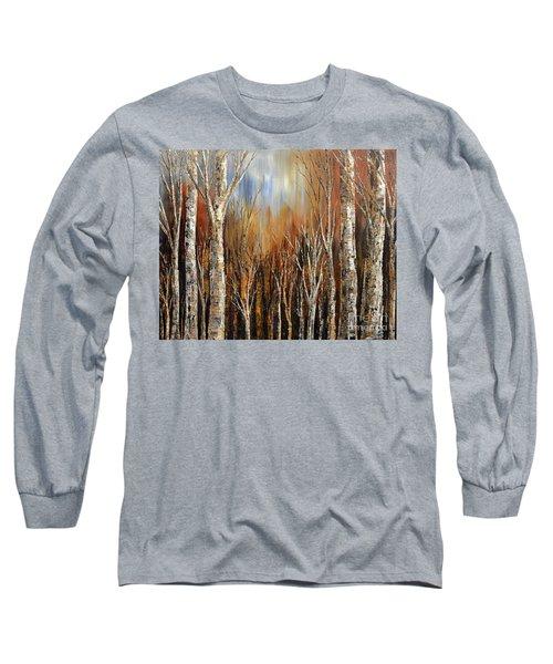 Winds Of Autumn Long Sleeve T-Shirt by Tatiana Iliina