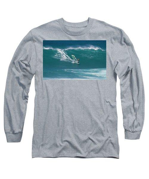 Windsurfer At Hookipa, Maui Long Sleeve T-Shirt