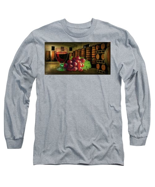 Long Sleeve T-Shirt featuring the photograph Wine Tasting by Hanny Heim