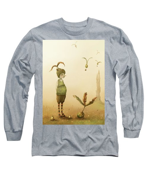 Wing-nut, Morning Bells Long Sleeve T-Shirt