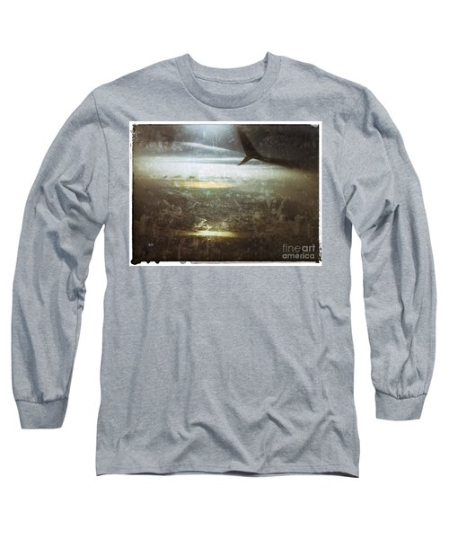 Winging It Long Sleeve T-Shirt by Jason Nicholas
