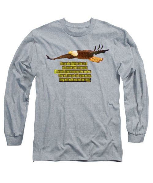 Wings Of Eagles Long Sleeve T-Shirt