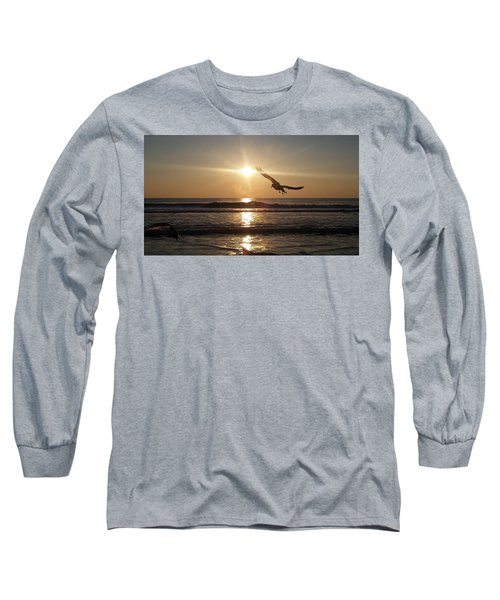 Wings Of Sunrise Long Sleeve T-Shirt