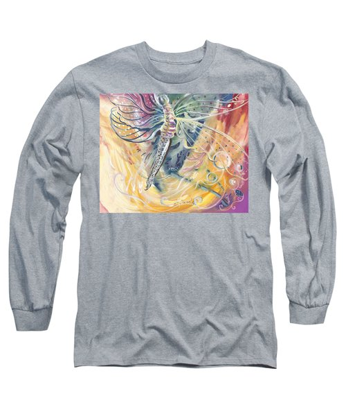 Wings Of Transformation Long Sleeve T-Shirt