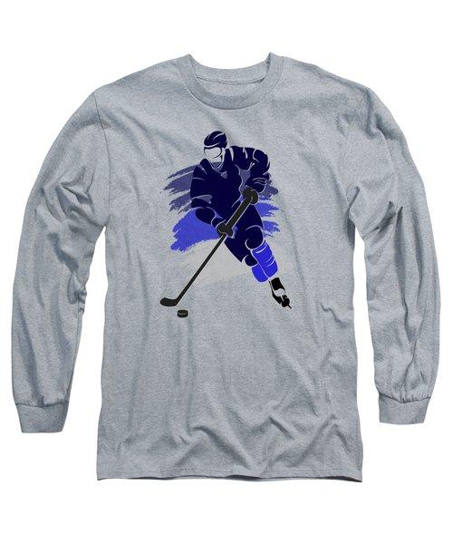 Winnipeg Jets Player Shirt Long Sleeve T-Shirt by Joe Hamilton