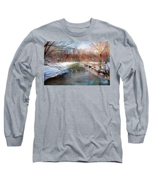 Winter At Cooper River Long Sleeve T-Shirt
