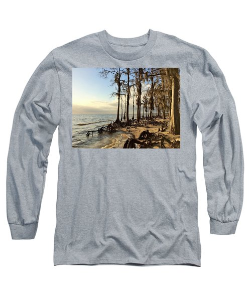 Winter At Fontainebleau State Park, Lake Pontchartrain, La Long Sleeve T-Shirt