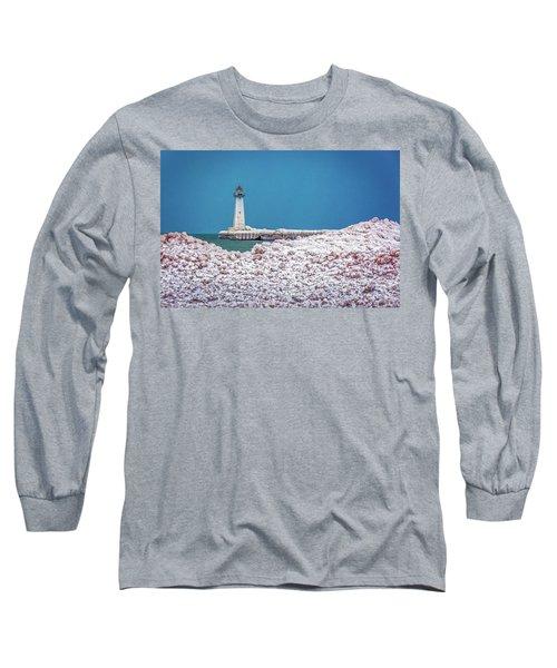 Winter At Sodus Point  Long Sleeve T-Shirt