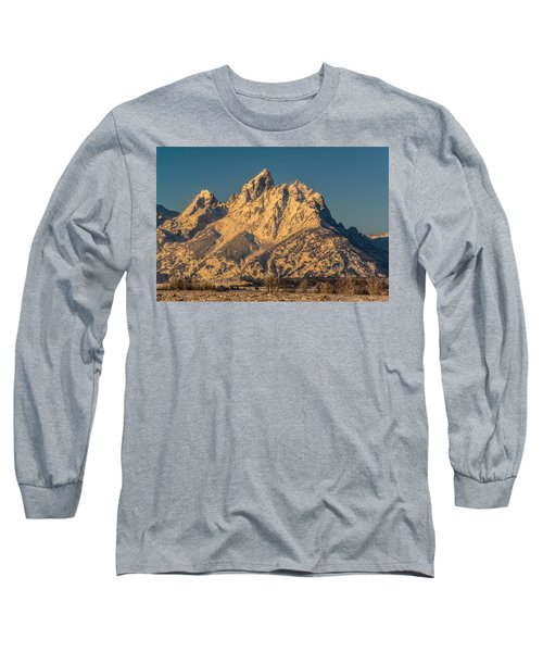 Winter At The Grand Long Sleeve T-Shirt