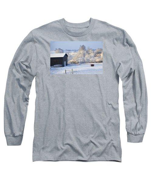 Winter Barn 1 Long Sleeve T-Shirt