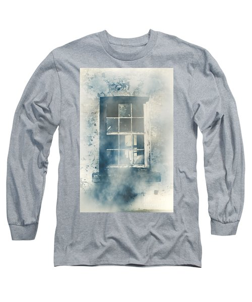 Winter Blues And Broken Windows Long Sleeve T-Shirt