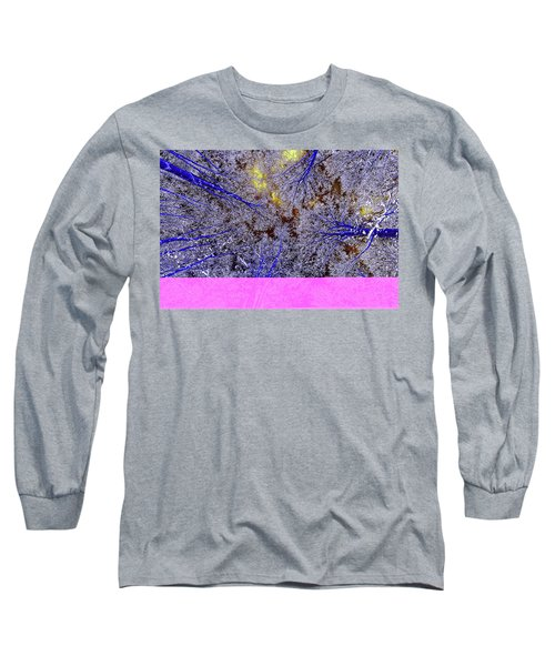 Long Sleeve T-Shirt featuring the photograph Winter Blues by Tony Beck