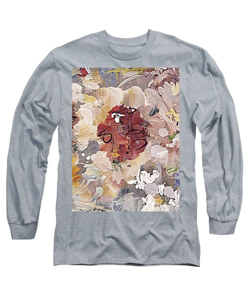 Winter Bouquet Long Sleeve T-Shirt by Nancy Kane Chapman