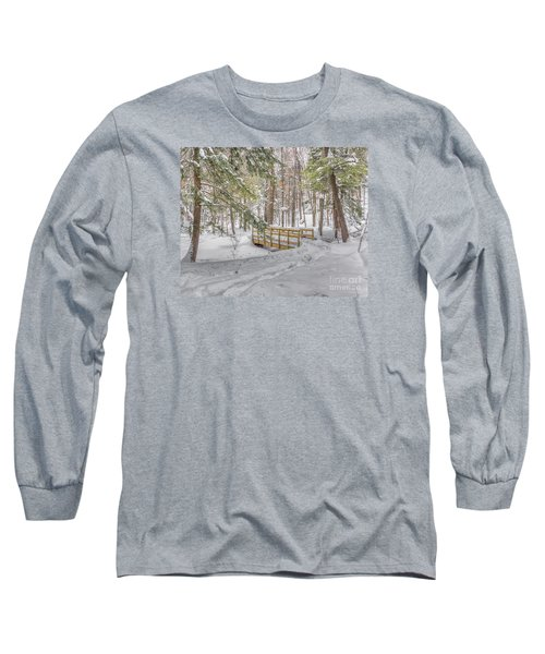Winter Bridge Long Sleeve T-Shirt