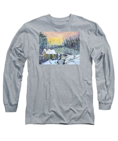 Winter Cabin Long Sleeve T-Shirt