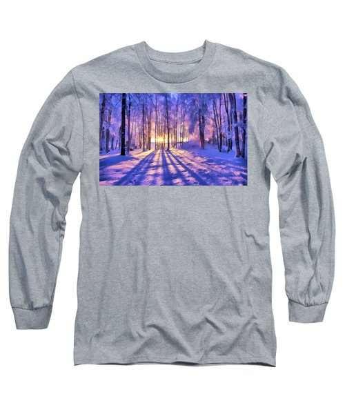 Winter Fairy Tale Long Sleeve T-Shirt