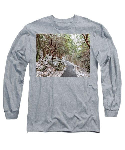 Winter Hiking Trail Long Sleeve T-Shirt