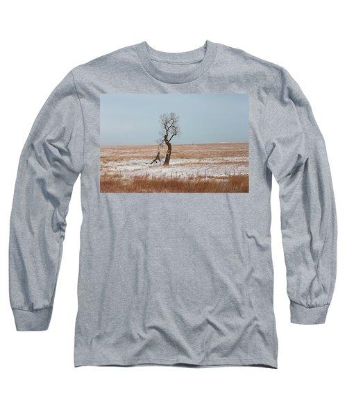 Winter In Kansas Long Sleeve T-Shirt