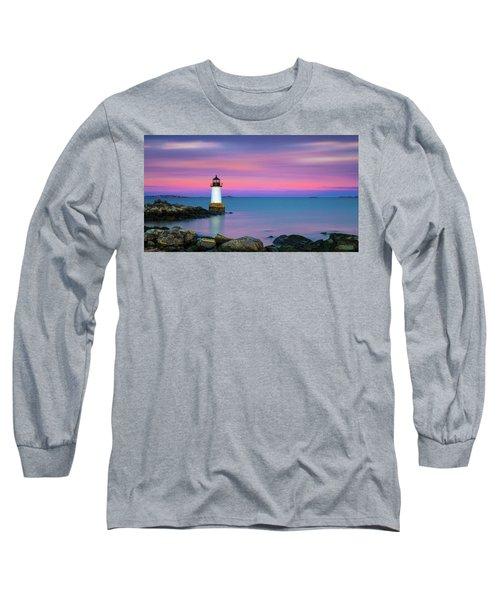 Winter Island Light 1 Long Sleeve T-Shirt