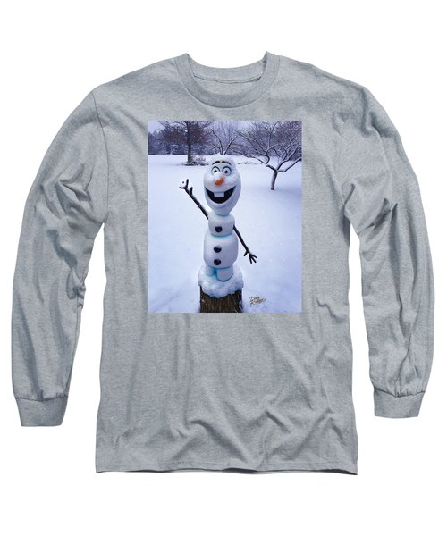 Winter Olaf Long Sleeve T-Shirt