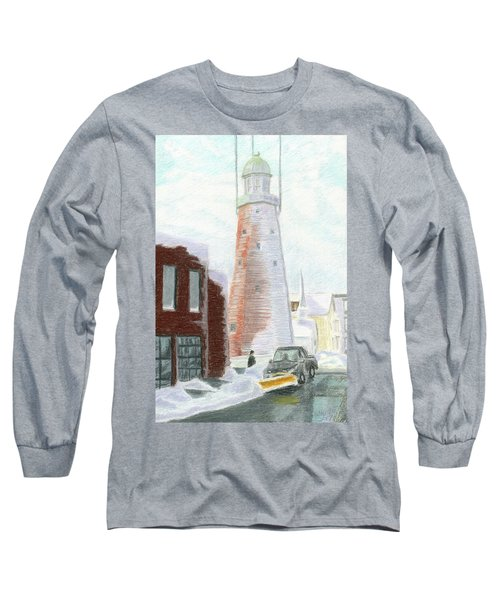 Winter On Munjoy Hill Long Sleeve T-Shirt