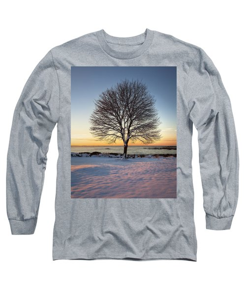 Winter On The Coast Long Sleeve T-Shirt