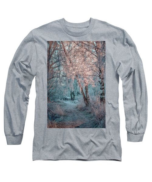 Winter Path #h1 Long Sleeve T-Shirt