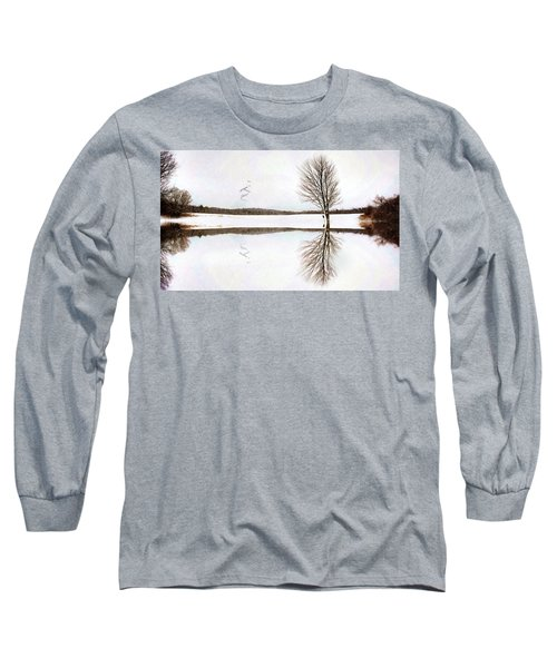 Winter Reflection Long Sleeve T-Shirt