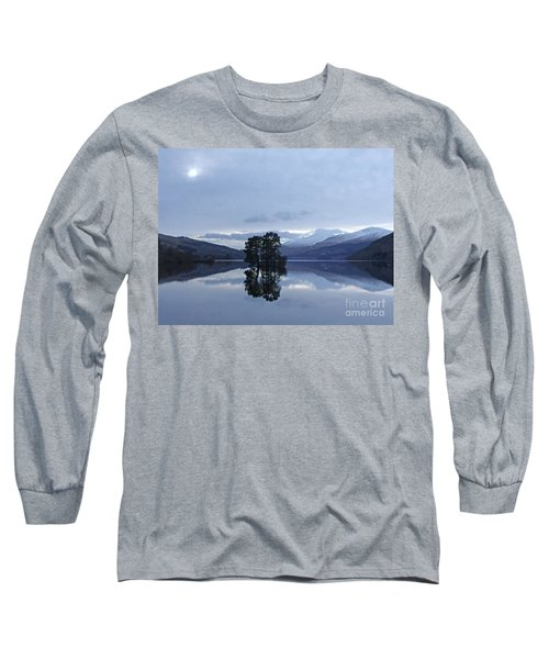 Winter Reflections - Loch Tay Long Sleeve T-Shirt by Phil Banks