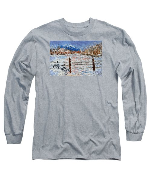 Winter Ride Long Sleeve T-Shirt