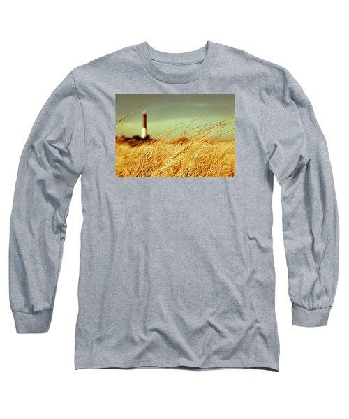 Winter Shore Breeze Long Sleeve T-Shirt by Dana DiPasquale