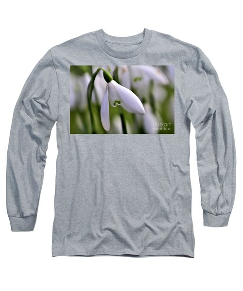 Winter Snowdrop Long Sleeve T-Shirt