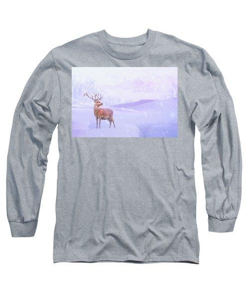 Winter Story Long Sleeve T-Shirt by Iryna Goodall