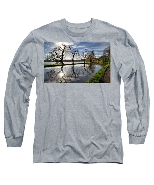 Winter Sun Long Sleeve T-Shirt by Shirley Mitchell