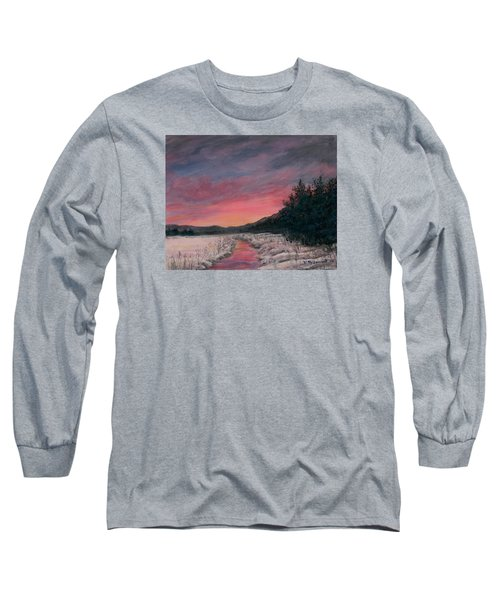 Winter Sundown Long Sleeve T-Shirt